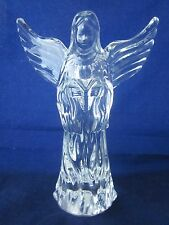 WATERFORD CRYSTAL Nativity 5th Herald Angel #5 with Wings Spread ~ EXC STICKER
