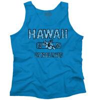 Hawaii State Pride T Shirt State Flag USA Hibiscus Gift Ideas Tank Top Shirt