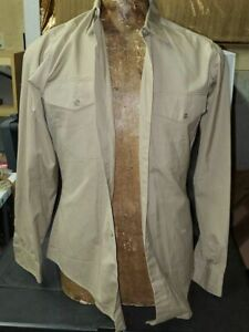 Vintage USMC Long Sleeve Shirt with Strong Markings and Tags