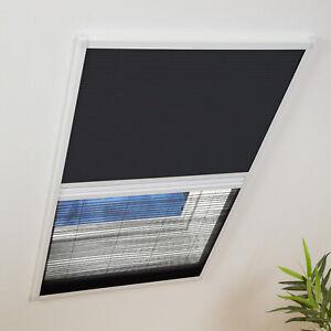 Insektenschutz und Sonnenschutz Fliegengitter Dachfenster Plissee Kombi Culex