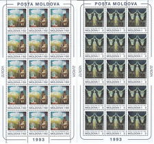 1993 EUROPA MOLDAVIA MINIFOGLI MNH ** - B
