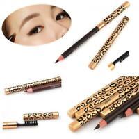 Waterproof Women Long-Lasting Makeup Brush Leopard Eyeliner Eyebrow Pencil