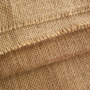 High Quality Christmas Decoration Jute Hessian Burlap Fabric Art & Craft 1m wide