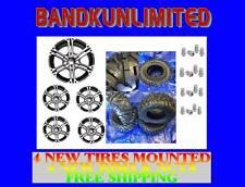 HONDA RANCHER 350 NEW ITP SS212 RIMS & 25X8-12 25X10-12 TRILOBITE TIRE KIT