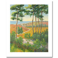 Christian Title Path To The Village Serigraph w/coa Edition AP20/85 was $1750