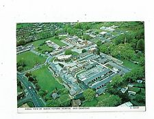 POST CARD COLOUR PHOTO AERIAL VIEW OF QUEEN VICTORIA HOSPITAL EAST GRINSTEAD