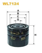WIX wl7124 FILTRO DE ACEITE - Spin-on Recambio W917 ph2855a fo3732