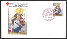 Imagerie de Metz timbre Croix Rouge  Y&T N° 2853 Enveloppe 1er Jour