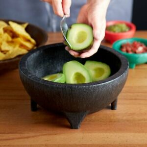 Thermal Plastic 56 oz. Molcajete Bowl,  Traditional look, Mexican restaurants