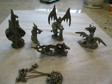 Perth Pewter Lot 6 pieces Fantasy, Mythical & Magic