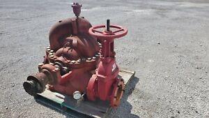 Aurora 6 x 4.95 x 17 1500 GPM 225 psi 2 Stage Split Case Pump 1800 RPM