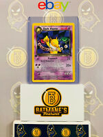 Dark Hypno 26/82 1st Edition NM Near Mint Team Rocket Non-Holo Pokemon Card