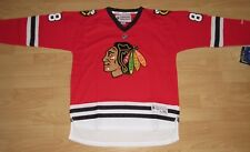 Reebok Chicago Blackhawks Marian Hossa #81 Home Hockey Jersey Youth Size L/XL