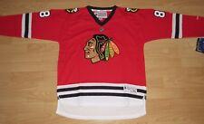 Reebok Chicago Blackhawks Marian Hossa #81 Home Hockey Jersey Youth Size L/XL