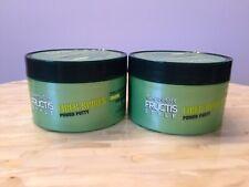 2 Garnier Hair Care Fructis Style Power Putty Fiber Spikes 3.4 oz each New
