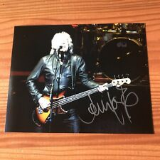 JOHN LODGE THE MOODY BLUES BASSIST SIGNED AUTHENTIC 8X10 PHOTO PROOF