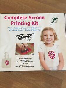 Permaset Screen Printing Kit