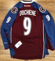 Reebok Premier NHL Jersey Colorado Avalanche #9 Duchene Burgundy Stitched
