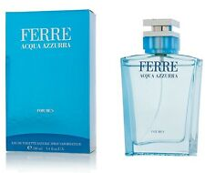 GIANFRANCO FERRE ACQUA AZZURRA FOR MEN EDT NATURAL SPRAY VAPO - 100 ml