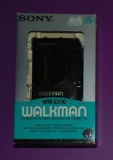 SONY WM-EX10 COMPACT SIZE CASSETTE PLAYER. RARO WALKMAN NUOVO !