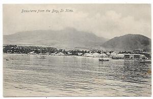 St Kitts Nevis 1911 Basseterre postcard sent to Germany