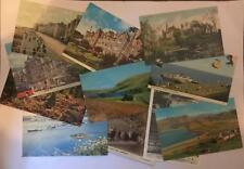 Old Vintage Postcards Collection UK & Europe Topo B/W Colour Job Lot Mixed Eras