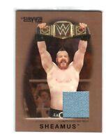 WWE Sheamus 2016 Topps Heritage BRONZE SS Mat Relic Card SN 16 of 99