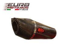 Yamaha YZF R1 2007-2008 MassMoto Terminale Scarico Kit 2in1 Oval Carbonio