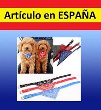 Pañuelo colores PERROS y GATOS mascotas animales disfraz juguete collar cosplay