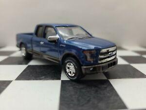 1:64 Custom 2016 XLT Ford F150 4WD truck Pickup Farm DCP ertl 4x4 hitch & tow
