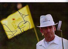 Ian Poulter autentico firmato a mano 12x8 photo RYDER CUP (3118)
