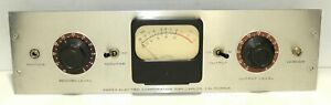 Ampex Meter Bridge For Model 300 Series Reel To Reel Tape Recorder Excellent