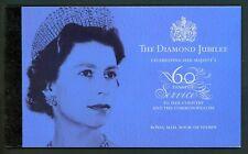 Great Britain Scott #BK199 MNH BOOKLET PRESTIGE QE II Diamond Jubilee CV$36+
