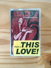 Maroon 5 - Songs About Jane Ultra RARE Hungarian Cassette Tape Like New Shape