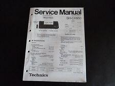 Original Service Manual Technics  Sound Processor SH-CH950