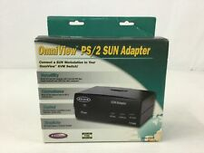 Belkin Omniview PS/2 Sun Adapter Black Cables F1D082 NEW