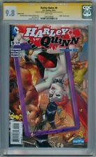 HARLEY QUINN #9 VARIANT CGC 9.8 SIGNATURE SERIES SIGNED x2 CONNER DC COMIC MOVIE