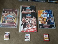225+ Topps WWF WWE Slam Attax Trading Cards - Superstars Rebellion Rivals