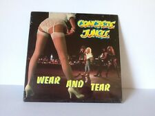 Concrete Jungle Wear and Tear 1988 Glam Hard Heavy Hair Metal SEALED Record LP