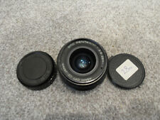 Asahi SMC Pentax-M 28 mm F2.8 Wide angle prime objectif PK avec capuchon UK Très bon état P K Fit