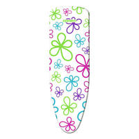 Leifheit Bügeltischbezug Cotton Classic,Trend Flowers XL 140x45 cm,bügelbrett