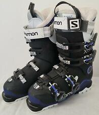 Salomon X Pro Energyzer 70W Ski Boots - Black/White/Purple Size 24.5