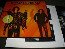 Primal Scream Sonic Flower Groove LP Original NM w/inr '87 jesus and mary chain