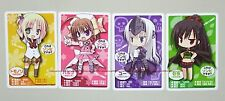 Kore wa Zombie Desu ka? promo card set of 4 anime official Eucliwood Haruna