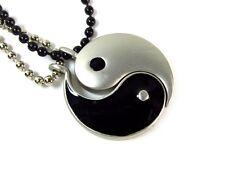 Yin Yang Best Friend Pendants on Ball Chain Necklaces #CJ-YY