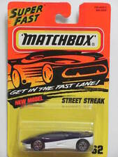 MATCHBOX 1995  #62  STREET STREAK - NEW MODEL