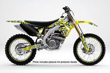 1996 1997 1998 RM 125 250 GRAPHICS KIT RM125 RM250 SUZUKI DECO DECALS STICKERS