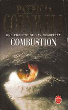 Livre Poche combustion Patricia Cornwell book