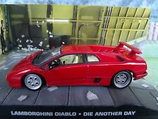 1/43 Lamborghini diablo James Bond Die Another day  007 series  diorama