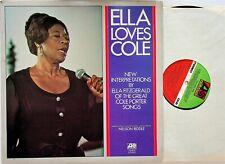 Ella Fitzgerald - Loves Cole Porter LP (UK 1972 Vinyl NM) Sings The Best of